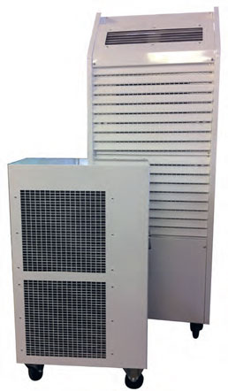 Split type water cooled air conditioning