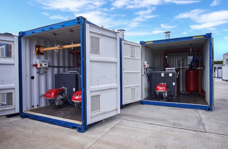 1.2 MW and 600 kW boilers